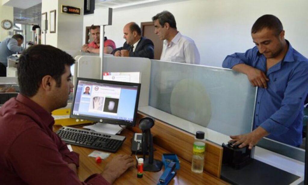 """مراكز جديدة لاستخراج """"الكملك"""" و تحديث البيانات في غازي عنتاب"""